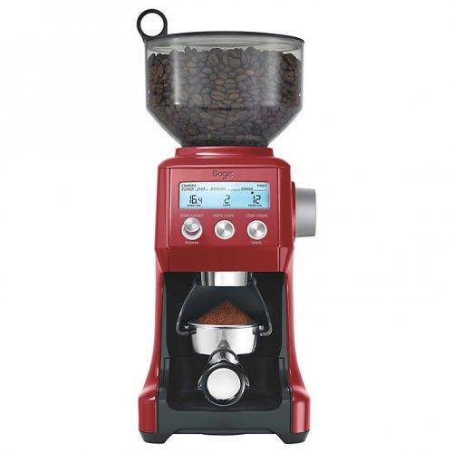 Sage by Heston Blumenthal the Smart Grinder Pro Coffee Grinder, Cranberry £99.95 John Lewis
