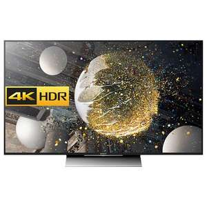 "URGENT PRICE UPDATE. Sony Bravia 55XD8005 LED HDR 4K Ultra HD Android TV, 55"" With Youview/Freeview HD, Playstation Now & Silver Slate Design. With 5 year warranty - £799 @ John Lewis price match"