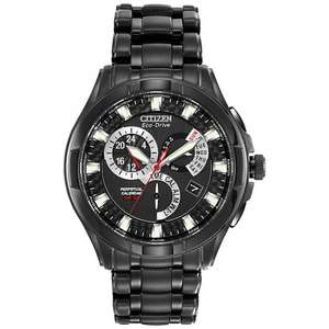 Citizen Men's Eco-Drive Calibre 8700 Black Ion-Plated Stainless Steel Watch, £149.50 from j.lewis