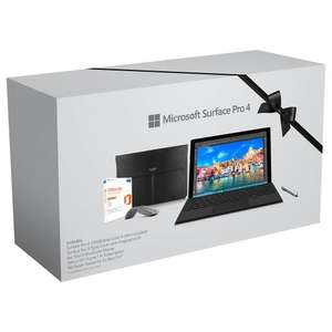 Surface Pro 4 i5 8gb with type cover, arc mouse, ted baker sleeve, office 365 home 1 yr
