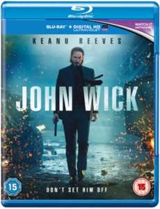 John Wick [Blu-ray+HD UltraViolet] £4.99 with any purchase in store @ Hmv (£5.04 w/bag)