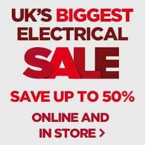 Currys upto 50% Sale now on