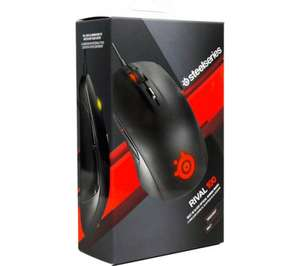 STEELSERIES Rival 100 Optical Gaming Mouse with 2 year guarantee Was £29.99 Now £14.99 @ Currys
