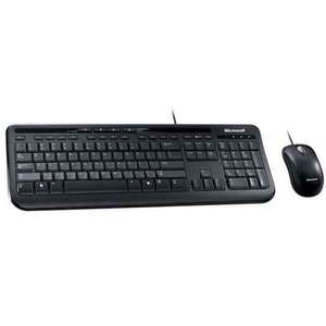 Microsoft Wired Desktop 600 Keyboard and Mouse at John Lewis for £12.45 (plus £2 Click & Collect)