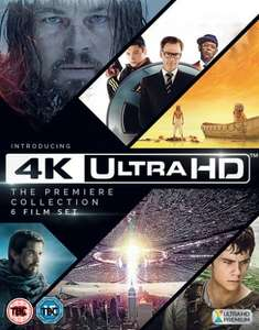 4K Ultra HD - The Premiere Collection @ HMV online & Instore - £39.99