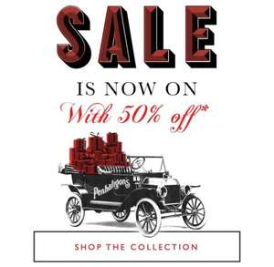 Penhaligons sale started 50% off