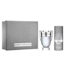 Paco Rabanne Invictus 100ml EDT + 150ml deodorant set at Boots for £40