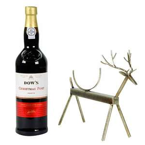 Reindeer Wine Stand & Dow's Christmas Port, 750ml £25 > £12.50 John lewis