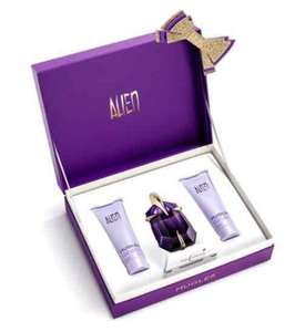 Mugler Alien 30ml gift set. Now £34.66. Was £52.00 at Boots