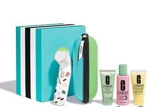 Clinique Sonic Gift Set - Male & Female, free delivery and free gift - £52.69