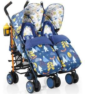 Cosatto Supa Dupa Twin Stroller - Fox Tale £144 @ Direct2mum