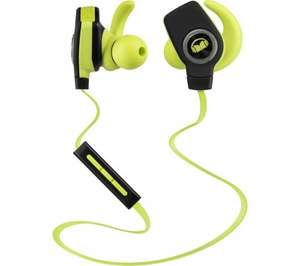 MONSTER iSport SuperSlim Wireless Bluetooth Headphones - Green 54.99 @ Currys