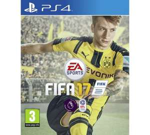 FIFA 17 PS4 Game £31.99 @ Argos