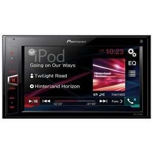 "Pioneer MVH-AV280BT 6.2"" Touch Bluetooth 2 Din USB MP3 Head Unit Car Stereo £145.00 @ Halfords ebay"