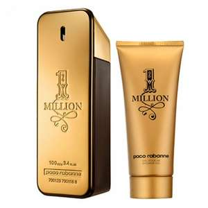 Paco Rabanne 1 Million 100ml EDT & 150ml Deodorant gift set £40 @ Boots