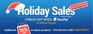 10% Cashback For CDKEYS on all sales 4 hours only! @ Quidco
