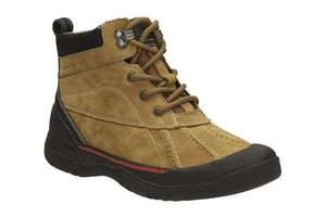 Clarks men's Allyn Top casual boot 60% off, Now £32 @Clarks