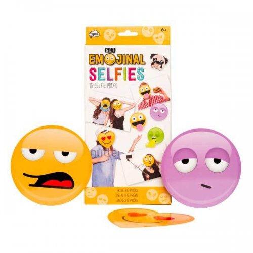 Emoji Selfie Kit 99p @ superdrug [15 selfie props]