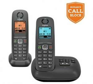 Double handset with answer machine and nuisance call block, Which ? Best Buy @ Argos