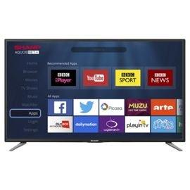 Sharp LC-43CFE6131K Smart Full HD 43 Inch LED TV £219.00 Tesco Direct