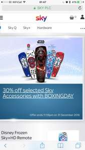 Official Sky Remote from £6.99 delivered!.