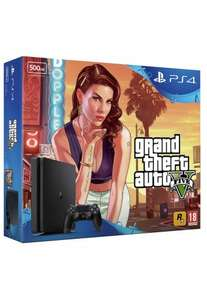 PS4 Slim 500GB + GTA + FIFA + The Division £229.99 @ Argos (£206.99 after Cashback