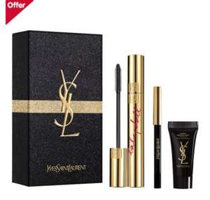 Yves Saint Laurent Babydoll Luxurious mascara Christmas set @ Boots for was £25 now only £16.99