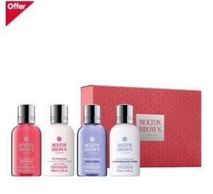 Molton Brown The Cruise Collection Gift Set @Boots for was £26 now only £17.33