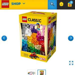 lego bricks from 49.99 to 34.99. Duplo too, cheapest I've seen