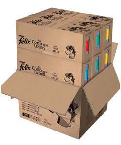 Felix As Good As It Looks Cat Food - 120 Pouches £24.99 - £23.74 (SS) @ Amazon