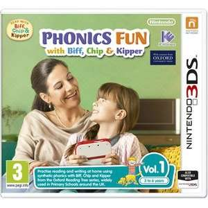 biff and chip phonics games vol 1 , 2 or 3 £3.99 / £5.98 delivered @ Nintendo