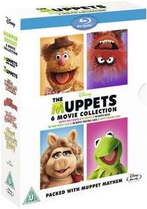 The Muppets Collection Blu-ray £14.99 @ Zavvi Delivered