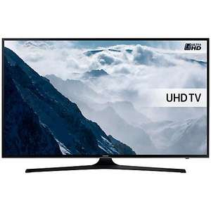 "Samsung UE50KU6000 HDR 4K Ultra HD Smart TV, 50"" with Freeview HD, Playstation Now & PurColour £489 @ John Lewis"