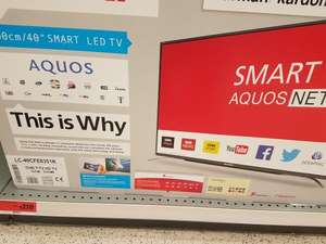 sharp TV 40 inch smart TV £210 @ Sainsbury's instore