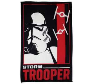 Argos - Star Wars Episode VII Classic Trooper Polar Panel Fleece £5