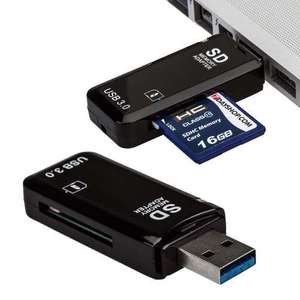 7dayshop USB 3.0 High Speed Single Slot SD SDHC SDXC Multi Memory Card Reader Adapter £2.35 delivered.