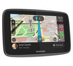 Tom Tom go 6200 6 inch. lifetime maps and traffic. Was 339.99 - £49.99 Argos