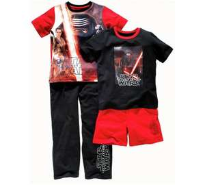 Star Wars 2-Pack Pyjama's  3 - 10 Years Was £14.99 Previously £7.49 NOW £4.49 (Free c&c) @ Argos