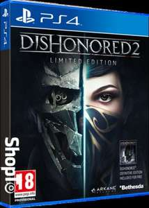 Dishonored 2 - Limited edition PS4 £26.86 @ Shopto