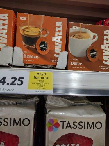Lavazza A Modo Mio pods 3 for £10 @ Tesco