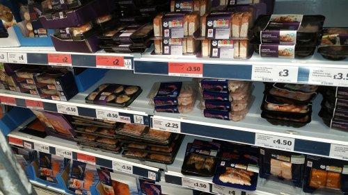 Various smoke salmon starters £2 @ sainsbury instore