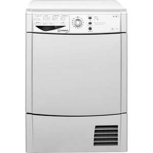 Indesit Eco Time IDCL85BHS Condenser Tumble Dryer - Silver £233 after AO Cashback
