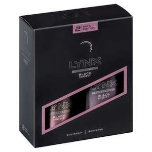 Lynx Black Night Duo gift set £1.37 in tesco colchester today