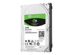 5tb Seagate Barracuda (Laptop) 2.5' sata 6gbs 5200rpm 128mg cache £216 @ BT Business