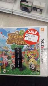 ANIMAL CROSSING NEW LEAF ASDA £15 instore