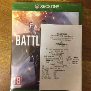 Battlefield 1 for Xbox One £33 @ Morrisons