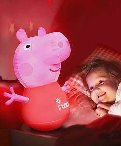 Peppa Pig 3 in 1 Night Light Sleep Trainer  (was £29.99) Now £14.99  C&C at ELC
