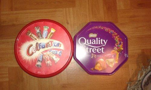 Tins of Celebrations/Quality Streets £2.50 @ Spar