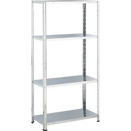 Homebase - Galvanised Steel 4 Shelf Storage Unit - £9.92