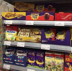 If anyone needs an Easter Egg on Boxing Day, then pop to coop  - £1
